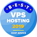 在首10大VPS托管服务类别名单内的获奖公司